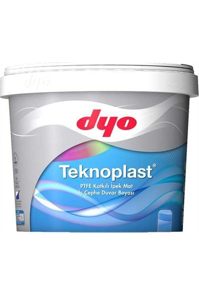 Dyo Teknoplast 0001 Beyaz 7,5 Lt