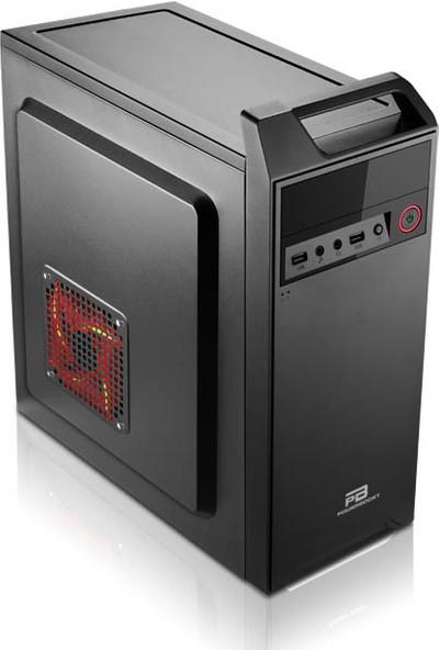 Power Boost VK-B003S 300W ATX Kulplu Shiny Piano Siyah Kasa (JBST-VKB003S)
