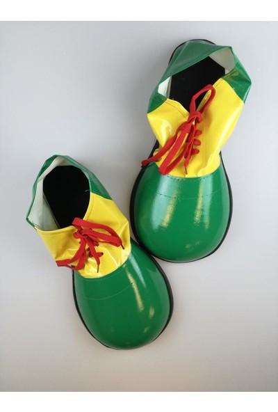Event Party Store Palyaço Ayakkabısı Yeşil