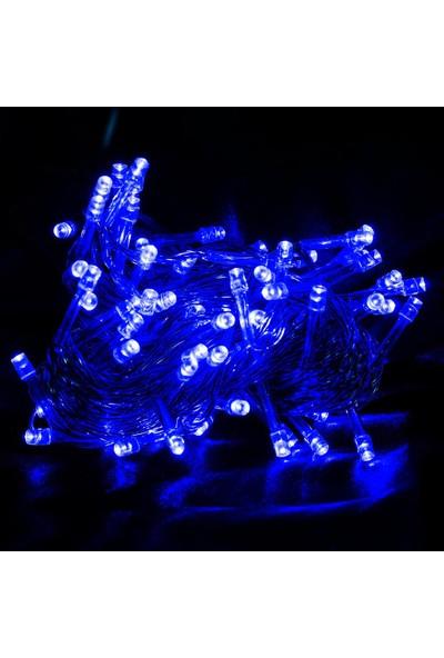 Event Party Store Yılbaşı Işık Beyaz Kablo Mavi Işık