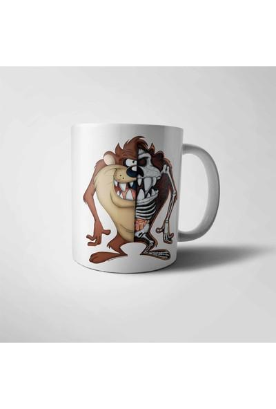 Muggkuppa Tazmanya Canavarı Kupa Bardak