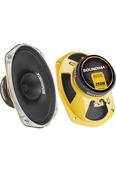 Soundmax Sx-M69K 6X9 Midrange Speaker 250W
