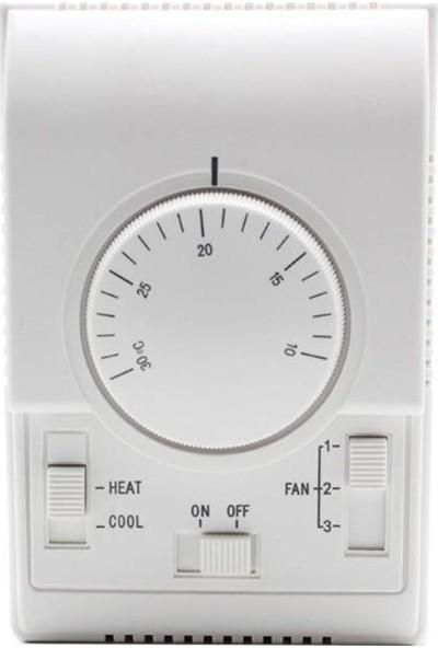 Ventilon Sıva Üzeri Fan Coil Oda Termostatı 2 Borulu Sistemler İçin RT3310-2