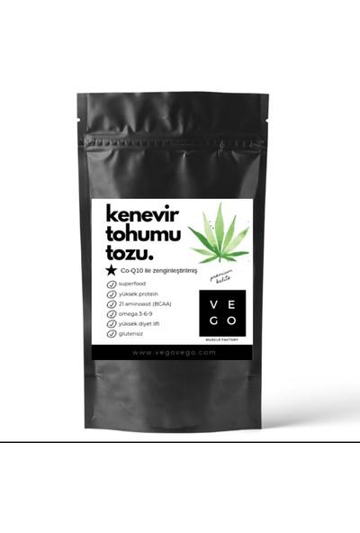 Vegovego Protein 10 Adet Kenevir Tozu + Koenzim