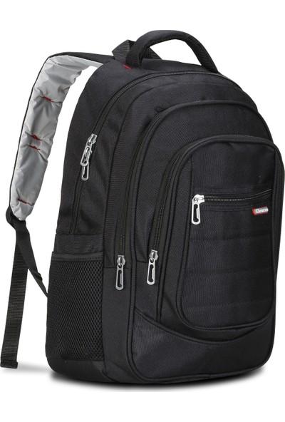Classone BP-L200 15,6 inç Notebook Sırt Çantası-Siyah