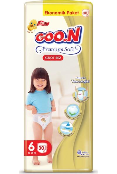 Goon Premium Soft Külot Bez 6 Beden Ekonomik Paket 30 Adet