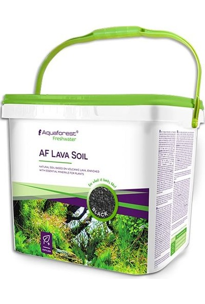 Aquaforest AF Lava Soil Black 5 Lt