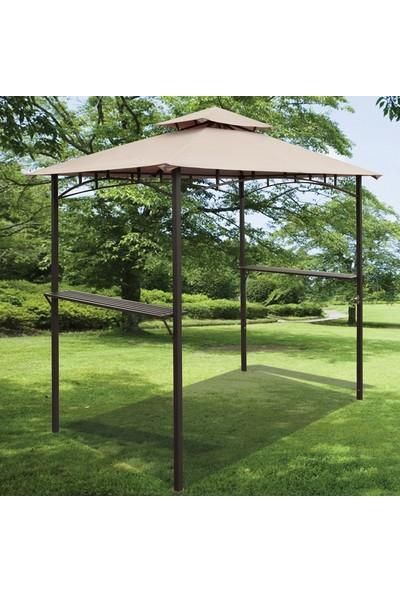 Bidesenal Parti Çadırı Tente Güneşlik Çardak Havuz Başı Gölgelik Kamelya