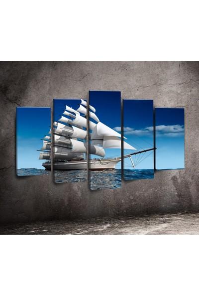 Modacanvas By Cadran 100 x 60 cm 5 Parçalı Kanvas Tablo 5P x 175