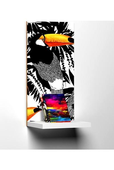 Modacanvas By Cadran 20 x 40 cm Dekoratif Raflı Mdf Tablo TKMD477