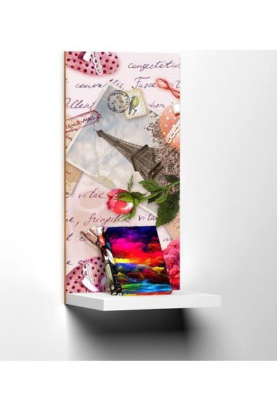 Modacanvas By Cadran 20 x 40 cm Dekoratif Raflı Mdf Tablo TKMD484