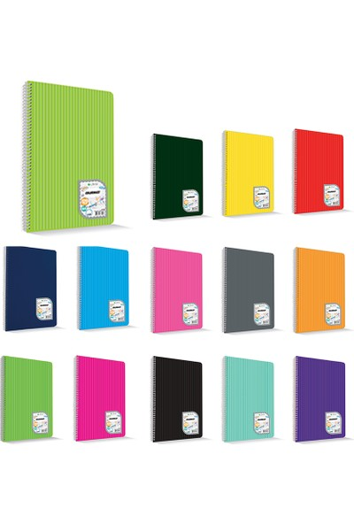 Uninote Colormaxı A4 Sp.Pp Kapak 120 Yp. Çizgili