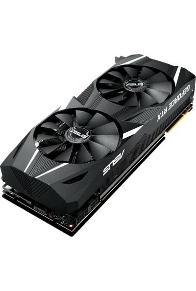 Asus Dual GeForce RTX 2080 Advanced Edition 8GB 256Bit GDDR6 (DX12) PCI-E 3.0 Ekran Kartı (DUAL-RTX2080-A8G)