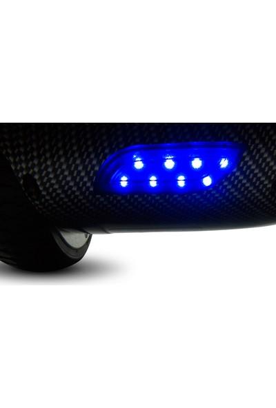 GoMaster SBS-653 Carbon Elektrikli Kaykay Hoverboard + Taşıma Çantası
