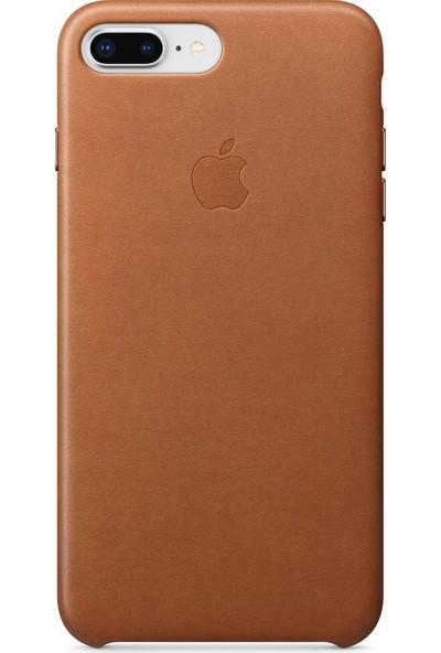 Daytona Apple iPhone 7/8 Plus Deri Kılıf - Kahverengi