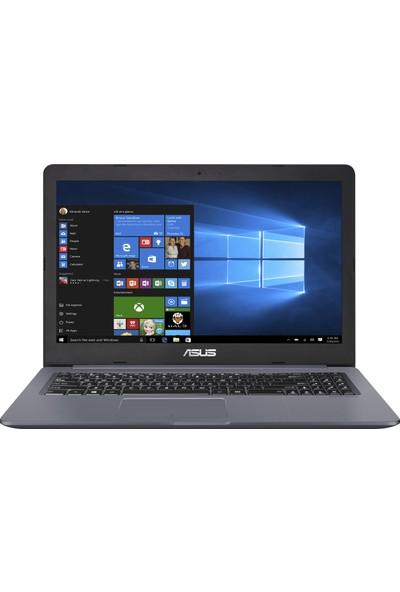 "Asus Vivobook N580GD-DM403T Intel Core i7 8750H 16GB 1TB + 256GB SSD GTX1050 Windows 10 15.6"" FHD Taşınabilir Bilgisayar"
