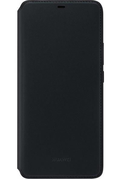 Huawei Mate 20 Pro Laya Wallet Cover Kılıf – Siyah