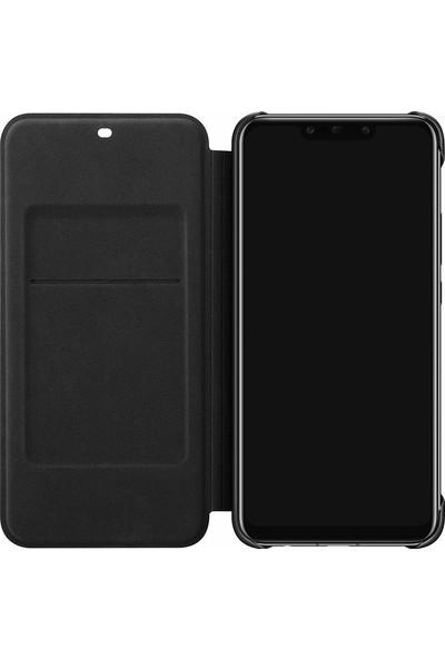 Huawei Mate 20 Lite Sydney Wallet Cover Kılıf - Siyah