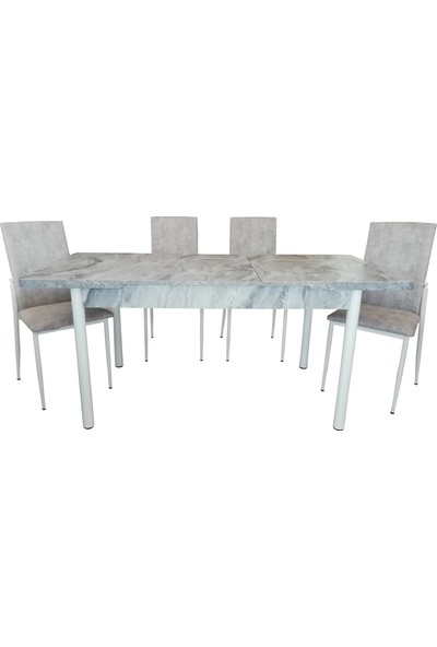 Özer Açılır Mutfak Masa Sandalye Takımı