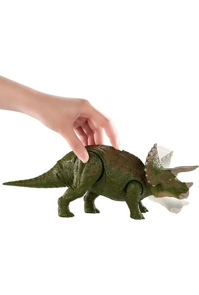 Jurassic World Çarpışma Figürleri Triceratops GDT38-GDT42
