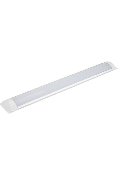 Lamptime 27W LED Bant Armatür Yatay 90 cm Beyaz Işık 6500K