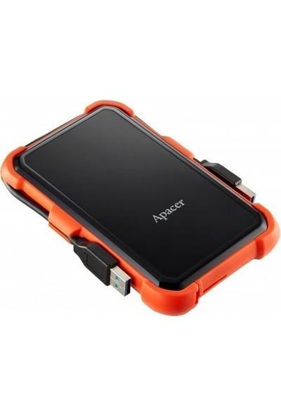Apacer AC630 1TB USB 3.1 Askeri Sınıf Darbeye Dayanıklı Taşınabilir Disk Turuncu AP1TBAC630T-1