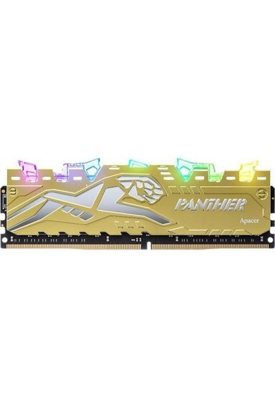 Apacer Panther Rage RGB 8GB 3000MHz DDR4 Ram EK.08G2Z.GJM