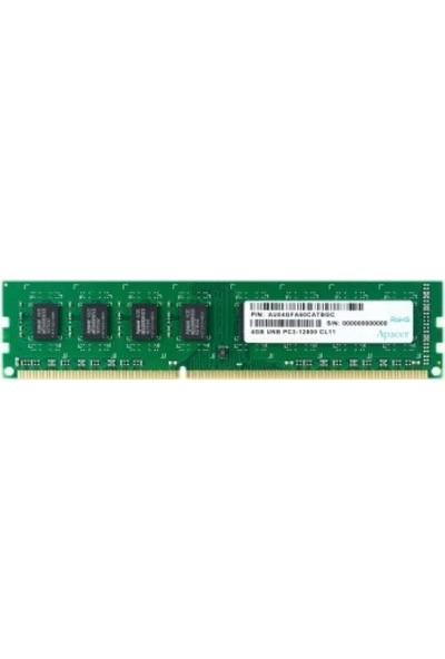 Apacer 4GB 1600MHz DDR3 Ram DL.04G2K.KAM