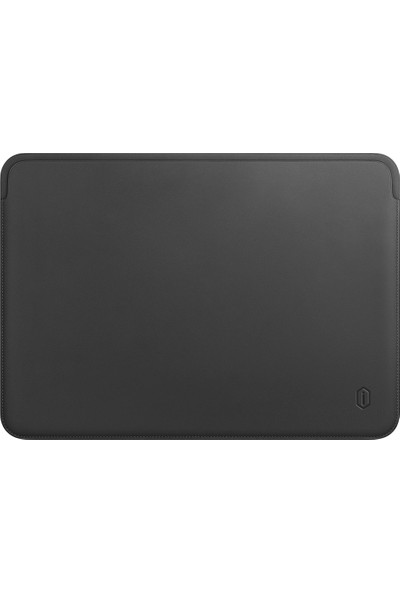 "Wiwu MacBook Pro Air Retina 15.4"" Vegan Deri Sleevebag SkinPro Çanta Koruyucu Kese Kılıf 476 Gri"