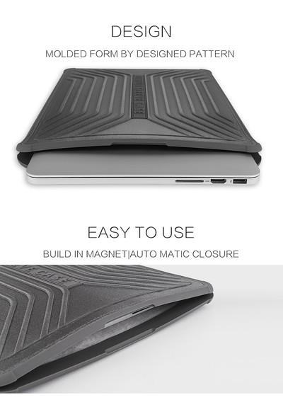 "Wiwu Bumper Sleeve Case MacBook Pro Air Retina 13.3"" Darbe Emici Laptop Kese Kılıf 1218 Pembe"