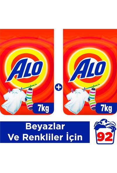 Alo 7 kg + 7kg Toz Çamaşır Deterjanı Beyazlar ve Renkliler İçin