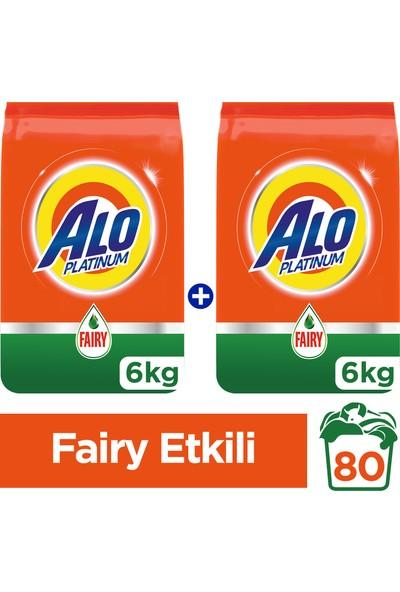 Alo Platinum Toz Çamaşır Deterjanı Fairy Etkili 6 kg + 6 kg
