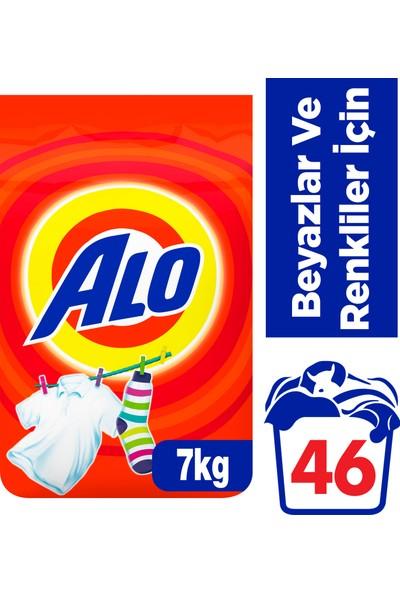 Alo 7 kg Toz Çamaşır Deterjanı Beyazlar ve Renkliler İçin