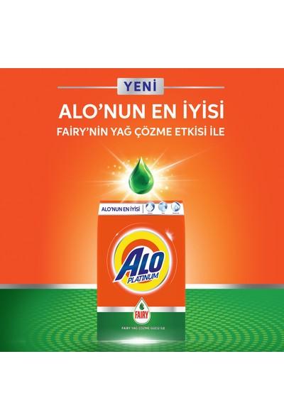 Alo Platinum Toz Çamaşır Deterjanı Fairy Etkili 5 kg + 5 kg