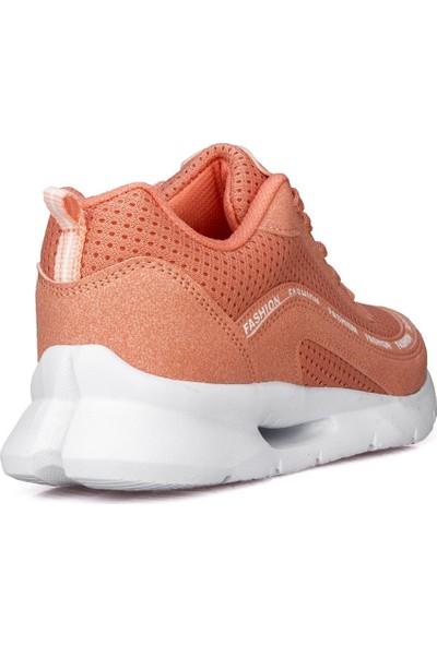 Awidox Kadın Somon Günlük Spor Ayakkabı