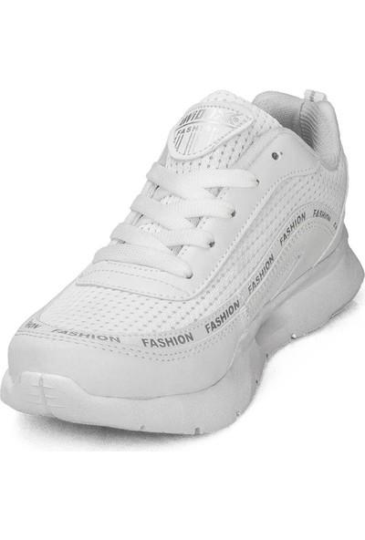 Awidox Kadın Beyaz Günlük Spor Ayakkabı