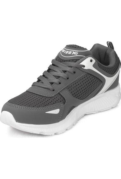 Awidox Erkek Füme Beyaz Günlük Spor Ayakkabı