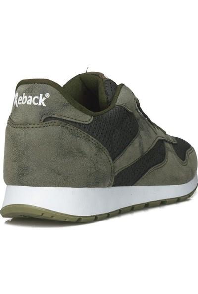 Reback Erkek Haki Günlük Spor Ayakkabı
