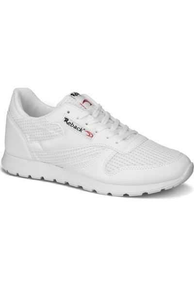 Reback Erkek Beyaz Günlük Spor Ayakkabı