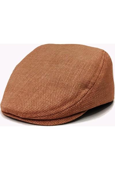 Külah Bakır Keten Kasket Şapka
