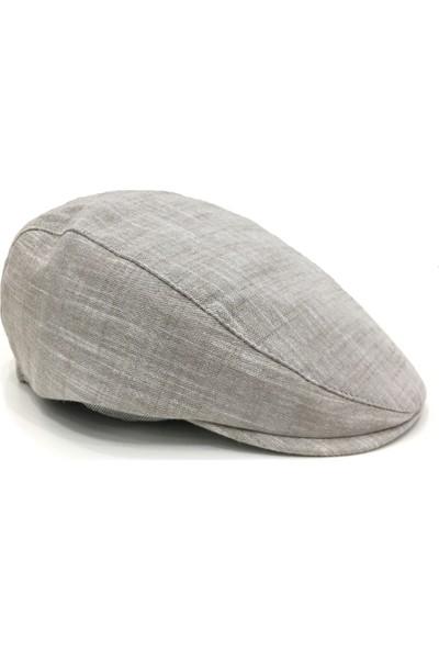 Külah Bej Pamuklu Yazlık Kasket Şapka