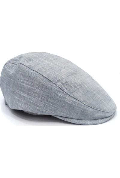 Külah Lacivert Pamuklu Yazlık Kasket Şapka