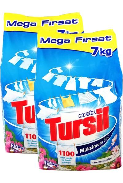 Tursil Matik Taze Kır Çiçekleri 7 kg x 2 Adet