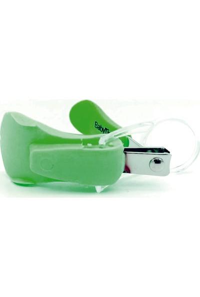 Babytime Büyüteçli Tırnak Makası Su Yeşili