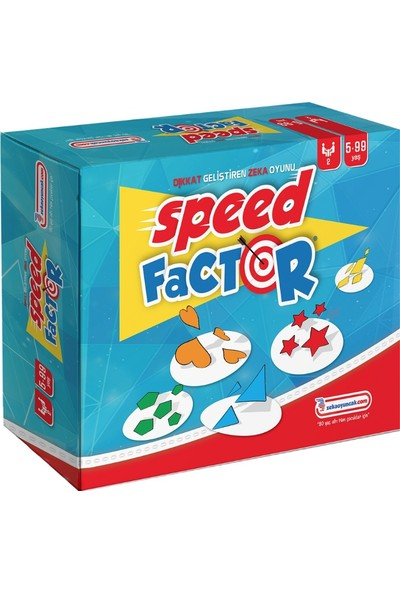 Zeka Çocuk Akademisi Speed Factor Zeka Oyunu