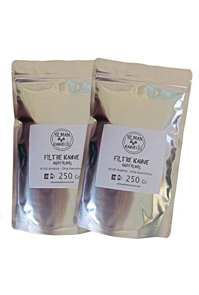 Yılman Kahvecisi Filtre Kahve 250 gr 2'li %100 Arabica - Öğütülmüş