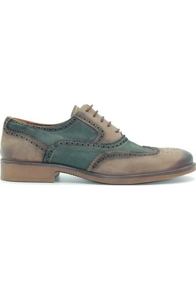 Marcomen 128 Scotland Erkek Ayakkabı Yeşil Kahve