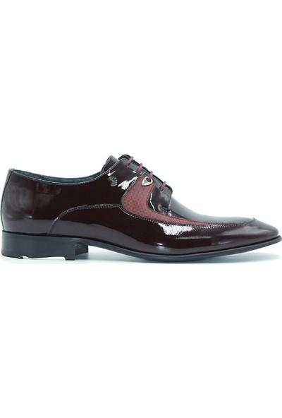 Marcomen 635 Scotland Erkek Ayakkabı Bordo Rugan