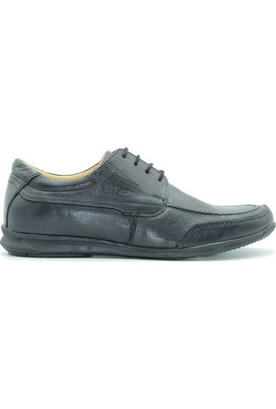 Üçel 203 Üçel Dr Flexer Ortopedik Erkek Ayakkabı Siyah