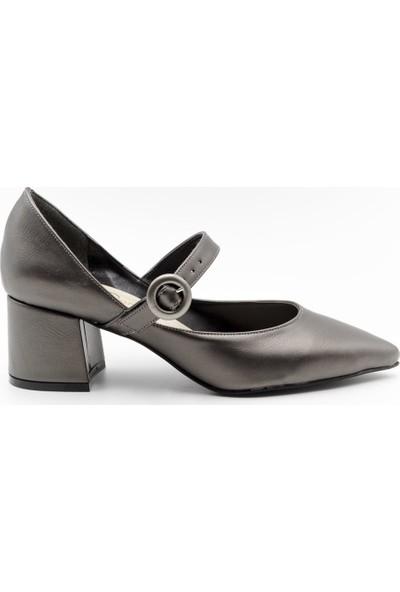 Filo Donna 8096 Filo Donna Kadın Ayakkabı Platin Cilt